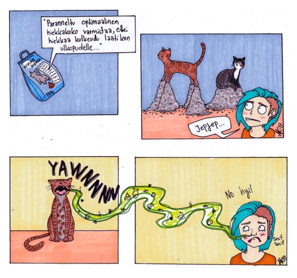 kissajuttuja
